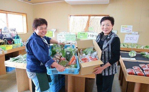 C08 新発田産「旬」の野菜セット