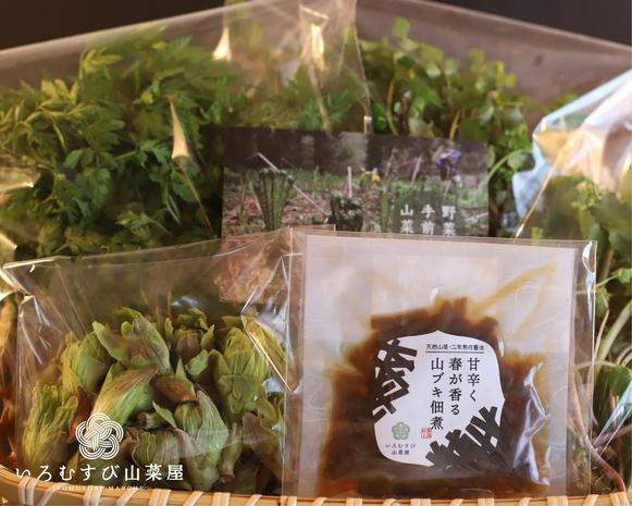 A4105 かかさの手仕事  山菜&惣菜セット