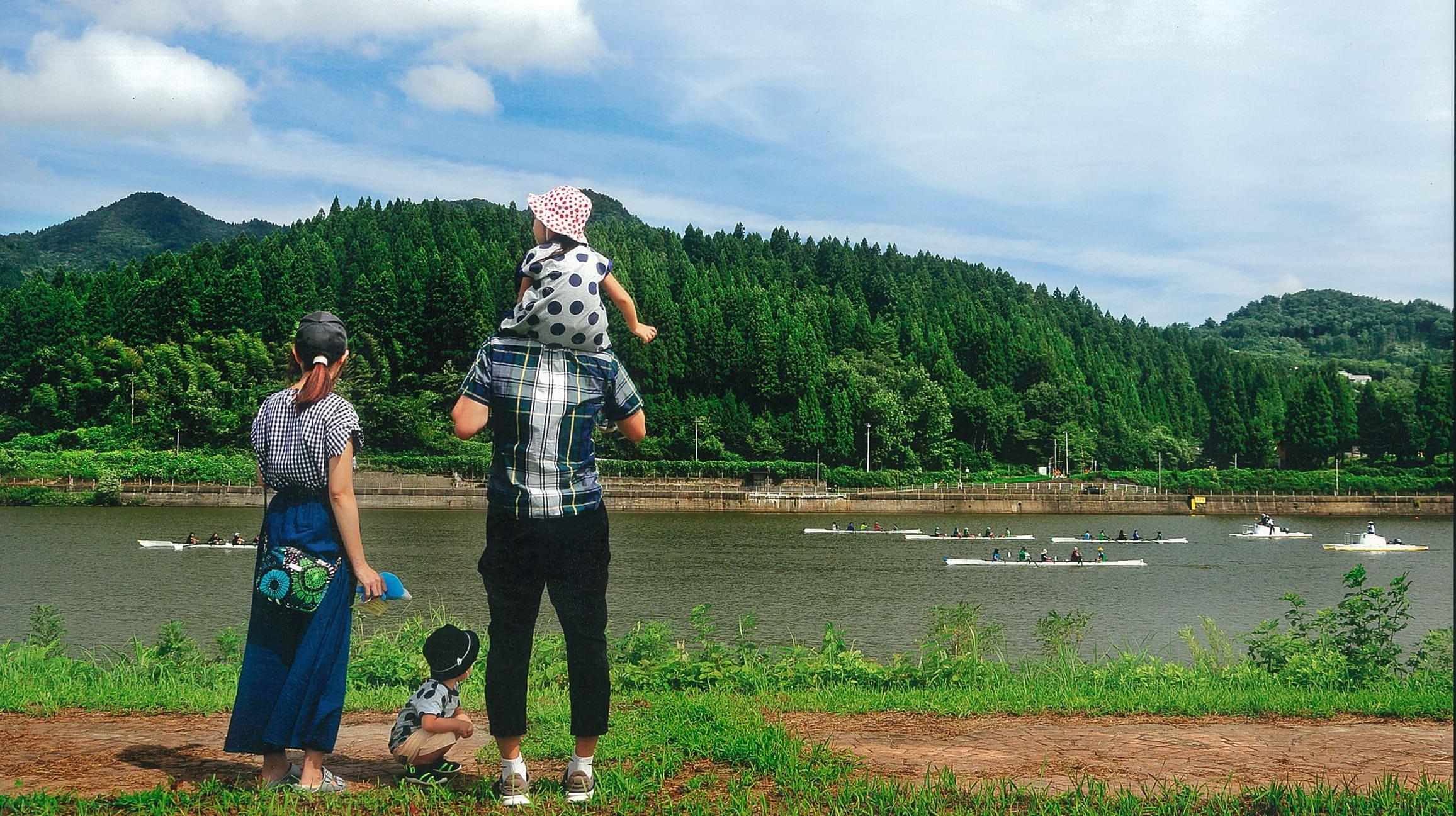 水と緑の美しい阿賀町