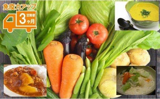 030077. たっぷり野菜でアレンジメニュー定期便