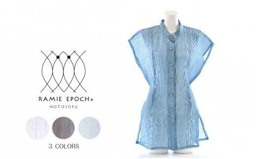 [L015] 能登上布ノースリーブシャツ [RAMIE EPOCH]