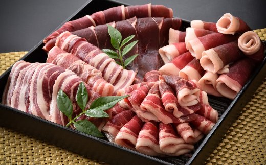 [B011] のとしし(イノシシ)肉スライス 1kg