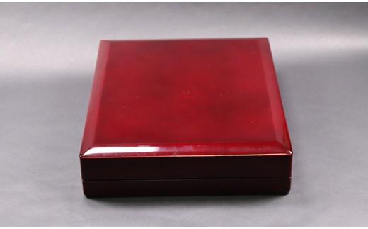[5839-1320]老舗ハンコメーカーの逸品 K18金HANKOセット ロイヤルシフォン『Royal Chiffon』。
