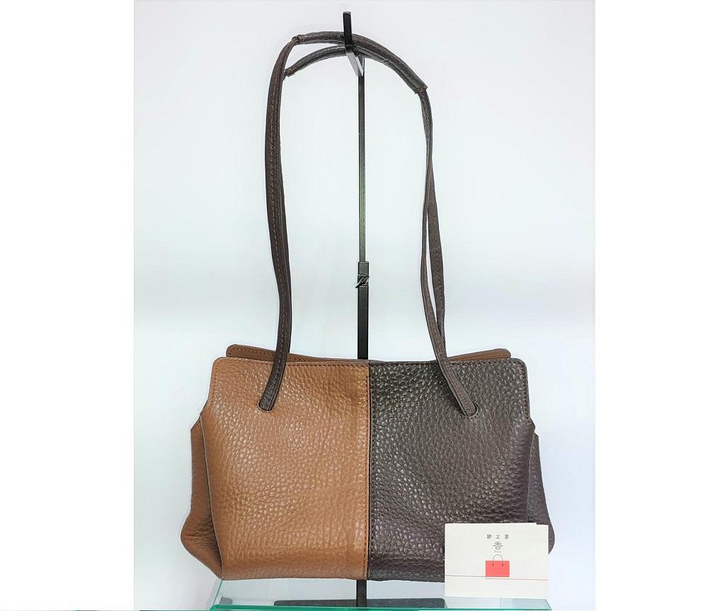 「鞄工房 香」オープンハンドバッグ