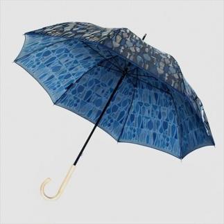 槙田商店 長傘 スティグ リンドベリ【POTTERY】ブルー(ポテリー) 晴雨兼用