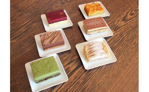 【数量限定】高級ホテルや大使館で御用達!【パティシエ手作り6種の冷凍ケーキ詰め合わせ】