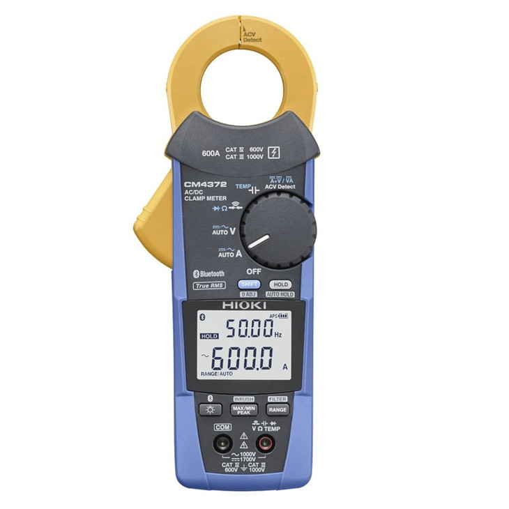 163-002 AC/DCクランプメータ CM4372 (Bluetooth® 無線技術搭載)