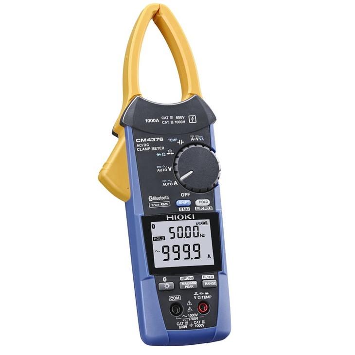 204-001 AC/DCクランプメータ CM4376 (Bluetooth® 無線技術搭載)