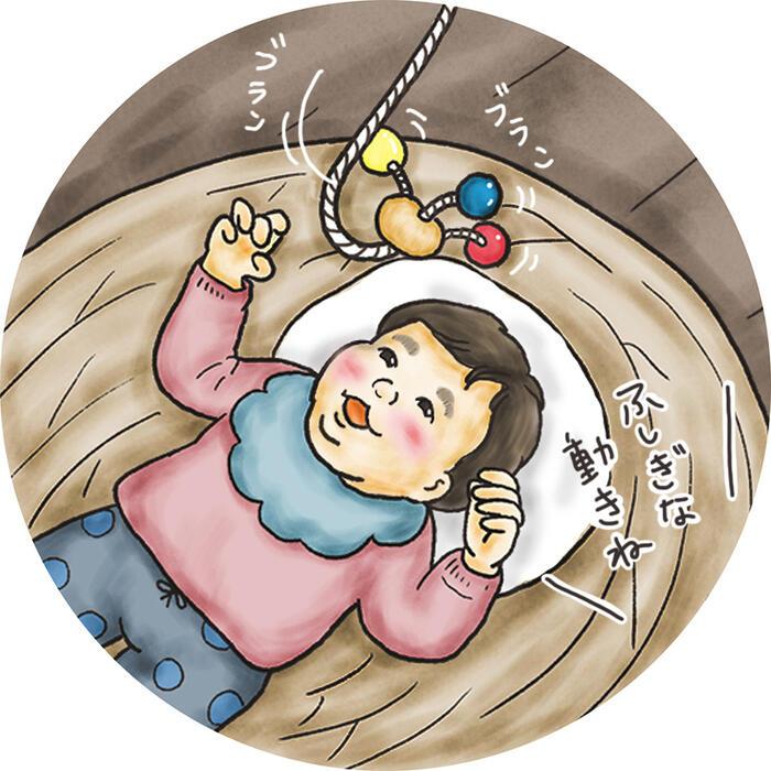 010-091 赤ちゃんが喜ぶ木のおもちゃ『たこおどり』≪玩具 オモチャ トイ ベビー 知育 ベッドメリー モビール 木製 キッズ プレゼント ギフト 出産祝い≫