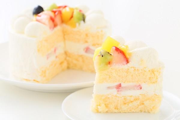 フルーツデコレーションケーキ 5号