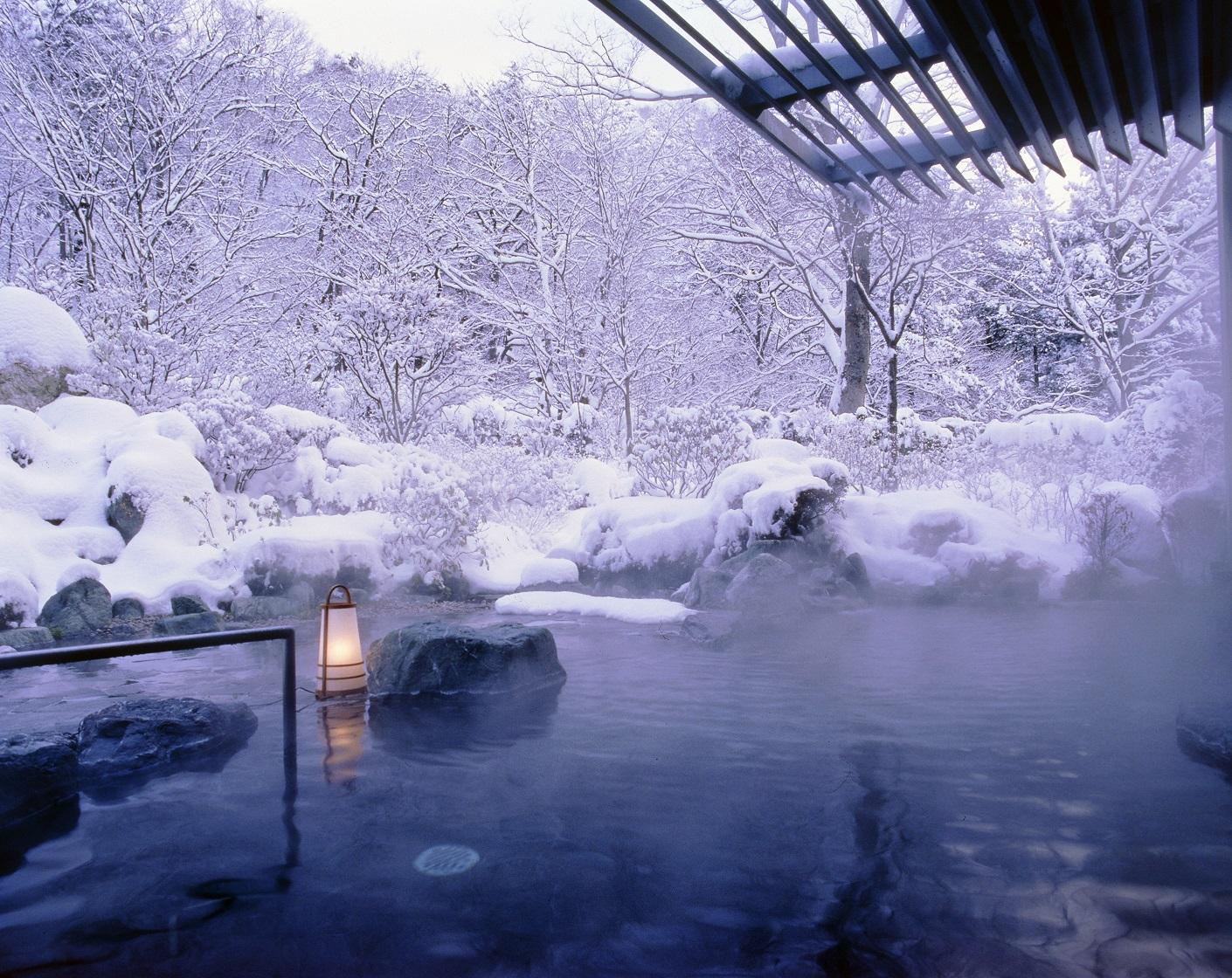 「名湯百選」にも選出。心静かに体を癒す温泉地。