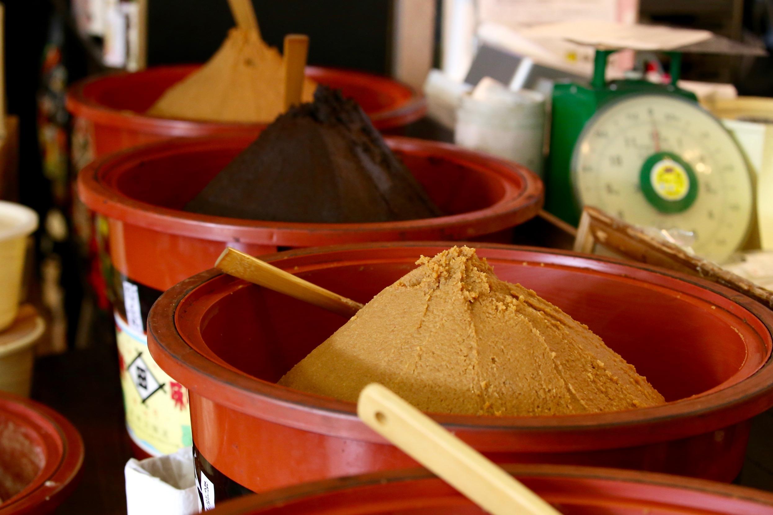 特典は、原商店での信州味噌の試食と、ゆきねぇが作る糀甘酒のプレゼント