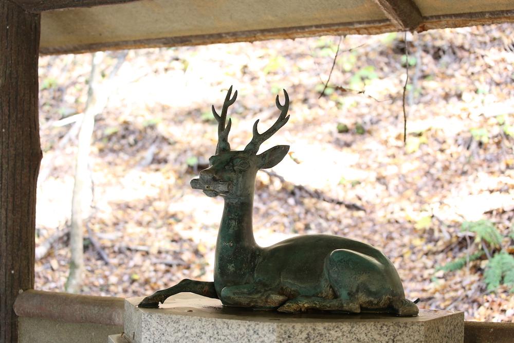 文殊菩薩の化身、鹿が導いた 神秘的な言い伝え