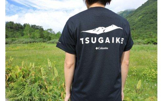 栂池自然園オリジナルTシャツ(ブラック)Lサイズ