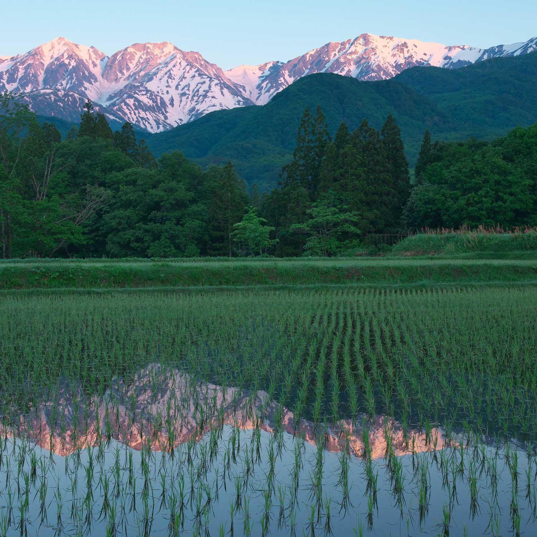 小谷村の風景画像