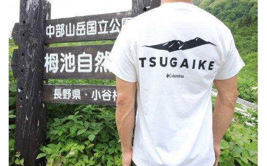 栂池自然園オリジナルTシャツ(ホワイト)Mサイズ