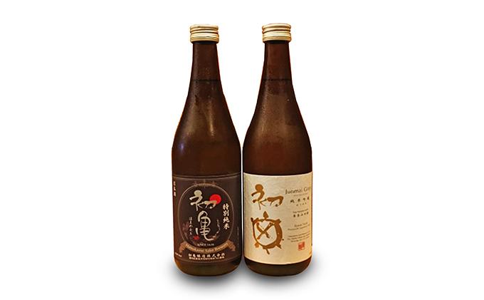 初亀純米吟醸と初亀特別純米の2本セット