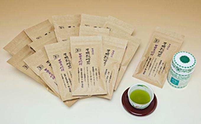 有機栽培茶 煎茶 1年分