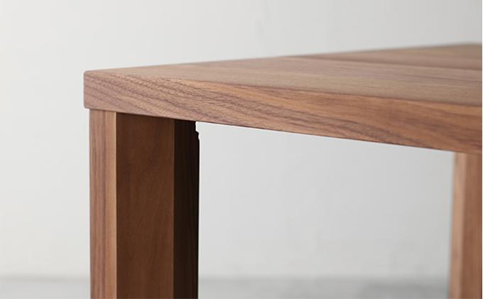 【秋山木工】ダイニングテーブル ウォールナット材 W180