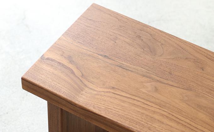 【秋山木工】ベンチ ウォールナット材 W180  D30