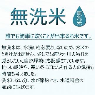 北海道産ゆめぴりか 無洗米 6kg(2kg×3袋) ホクレン認定マーク付 安心安全なヤマトライス H074-202
