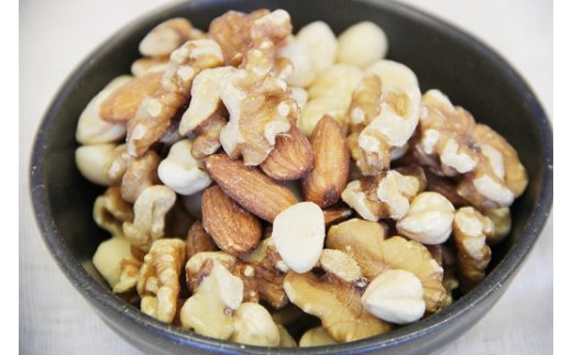【ケトン食を意識した】低糖質で無塩の素焼きミックスナッツ 1kg H059-013