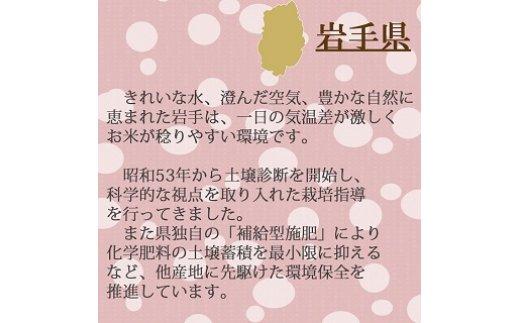 岩手県産ひとめぼれ 5kg 安心安全なヤマトライス H074-060