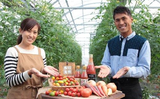 【大好評の定期便】1月からの旬を味わうトマトの半年パック H004-035