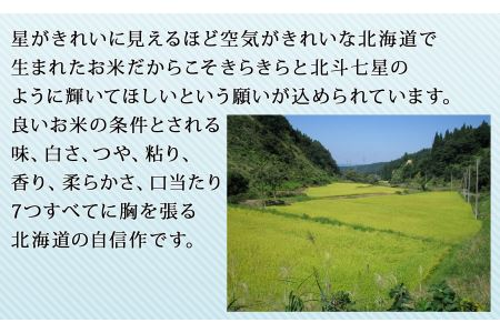 北海道産ななつぼし 無洗米 5kg ※定期便12回 安心安全なヤマトライス H074-104