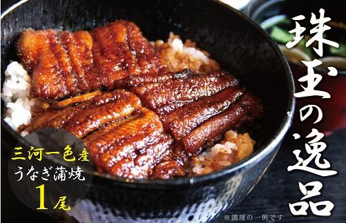 三河一色産 鰻蒲焼き 珠玉の逸品 1尾 H106-001