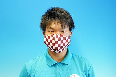 人気アニメの和柄を取り入れた マスク 3枚 日本製 大人用 H067-010