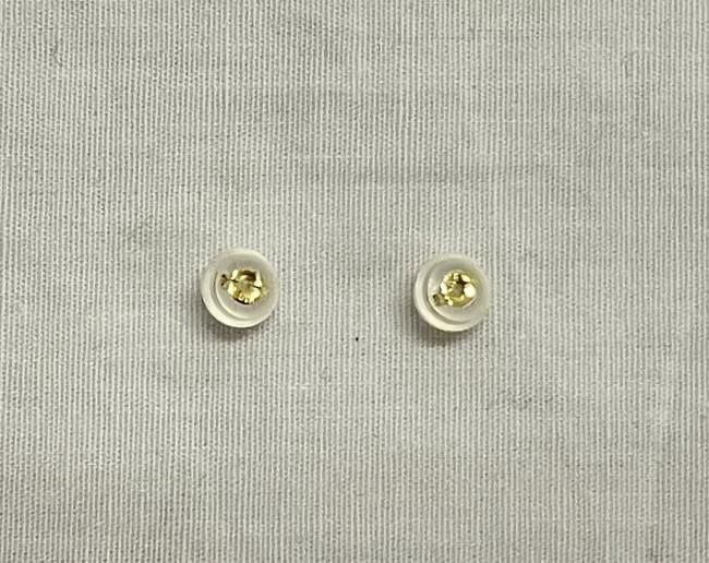 795 K18ポスト 7mmアコヤ真珠ピアス
