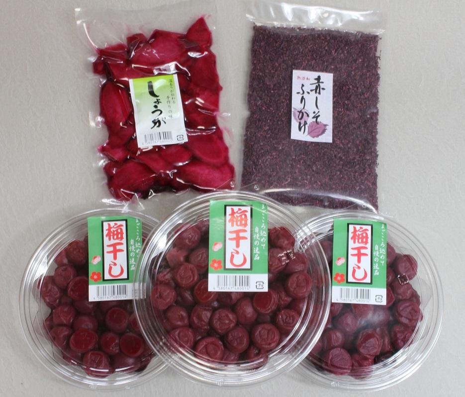 TH-01 40年作り続けてきた無添加梅干しと季節の食べ物セット