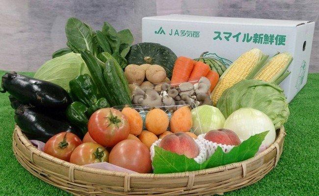 JA-04 旬の野菜と果物の詰め合わせ