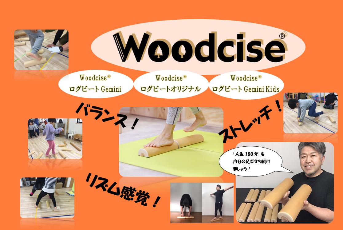 M-ED1.【ウッドサイズ健康法】Woodcise® ログビートオリジナル [M-ED1]