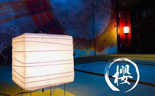 M-D1.奈良県桜井駅近【ゲストハウス和櫻】旅行宿泊券(1室4名様まで宿泊可能) <月影>