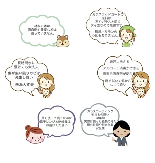 吉野杉の丼 スクエアボウル 津田瑞苑/ヌードル 丼 木製 キャンプ ガラスコート 麺類 チャーハン皿