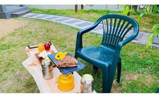 アイアンテーブル 天然ひのき材/アウトドアグッズ キャンプ用品 登山用品 ピクニック 天然 ひのき 桧 檜