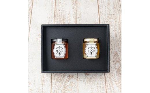 【むろうはちみつ】奈良県産純粋はちみつ2種セット 140g×2ヶ入 / ギフト 室生 国産蜂蜜