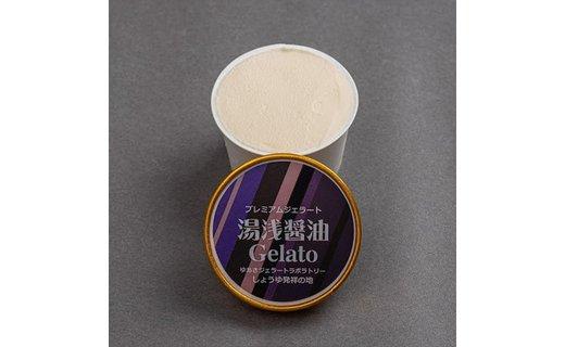 プレミアムジェラート 湯浅醤油12個セット/ゆあさジェラートラボラトリー