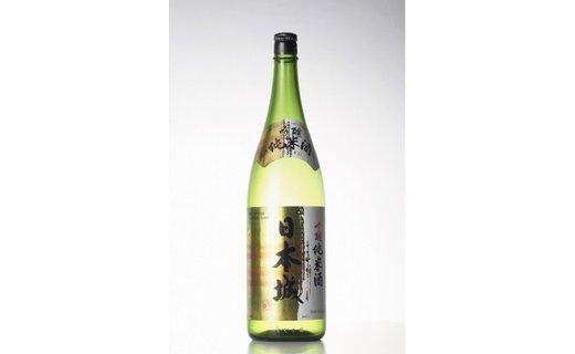【紀州の地酒】吟醸純米酒「日本城」1800ml
