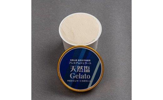 プレミアムジェラート 天然塩12個セット/ゆあさジェラートラボラトリー