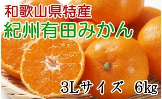[厳選]紀州有田みかん6kg(3Lサイズ・赤秀品)