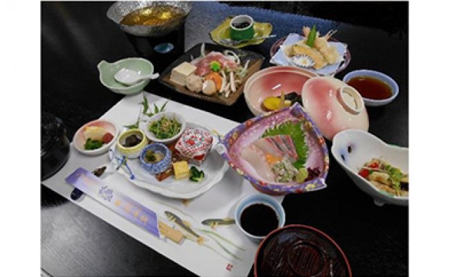 Q6003_湯浅城 A会席(2名様ペア)1泊2食プラン