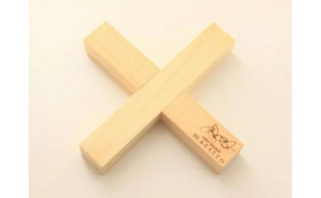 AA6013_【紀州ヒノキ】鍋敷き クロス 家具職人手造り