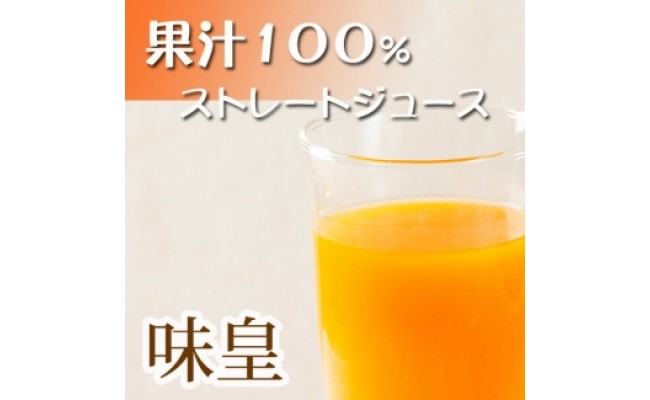 G6047_有田みかん果汁100%ジュース「味皇」720ml×2本