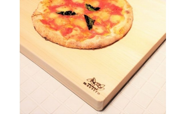 AA6009_手作りパン・ピザ・お菓子作りに最適!家具職人が造る紀州ヒノキ(一枚板)の木製ボード