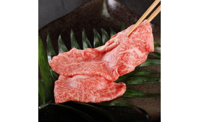 AB6156_モモすき焼き・しゃぶしゃぶ用350gA3ランク【和歌山県特産和牛】《熊野牛》