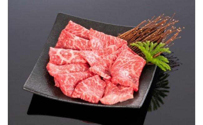 ZB6094_高級和牛「熊野牛」特選モモ焼肉400g4等級以上