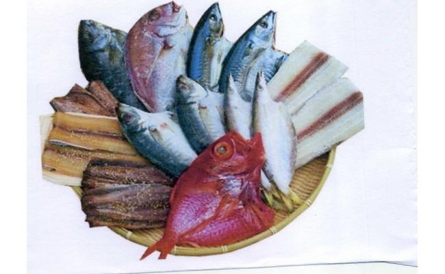 J6002_紀州ゆあさ魚義オリジナル和歌山の魚を梅塩と湯浅醤油で作った、こだわりの極上干物セット